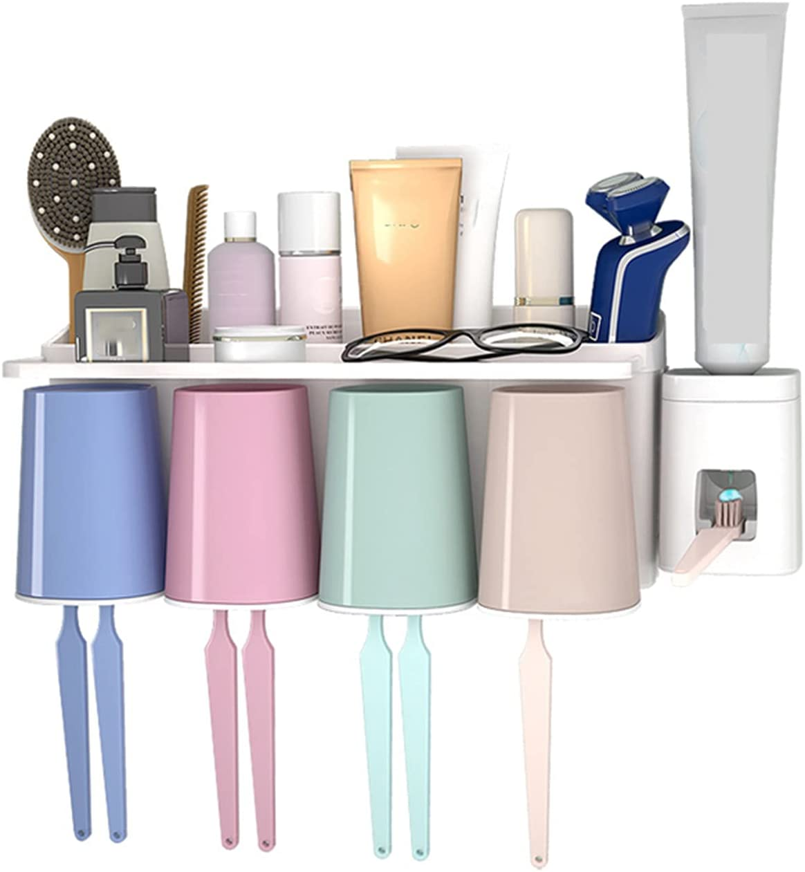 Toothbrush Holder Wall Multifunctional Mounted Special Max 48% OFF price for a limited time Cover