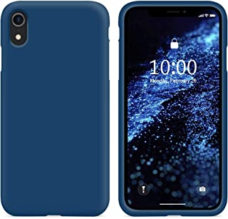 iphone xr coque bleu marine