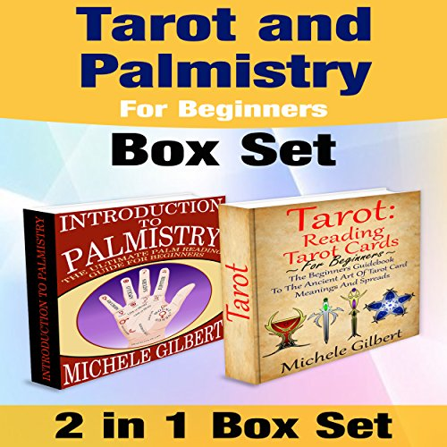 Tarot and Palmistry for Beginners Box Set audiobook cover art