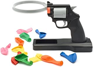J.C Arts Lucky Balloon Pistol Toy, Party Roulette Balloon Gun Party Tricky Creative toy gun Adult children tricky Funny Toys Family interactive games Creative Spoof