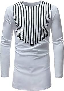 Tops for Men Luxury African Print Blouse Summer Fashion Long Sleeve Dashiki Shirt