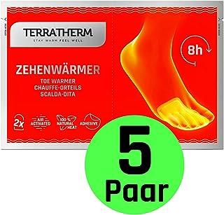 comprar comparacion TerraTherm Calienta pies Adhesivos, Calcetines con calefacción de 8 Horas, Calentadores de Dedos y Calentadores de pies, a...