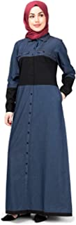 open abaya with jeans