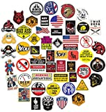53 Pack Stickers for Hardhat Toolbox Construction