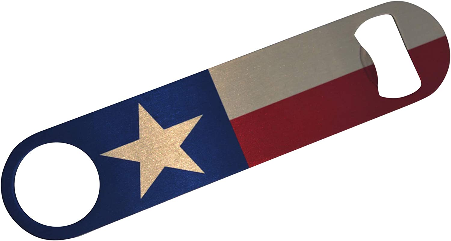 Wholesale Texas State Flag Speed Bottle Opener Heavy Directly managed store L Gift Texan For Duty