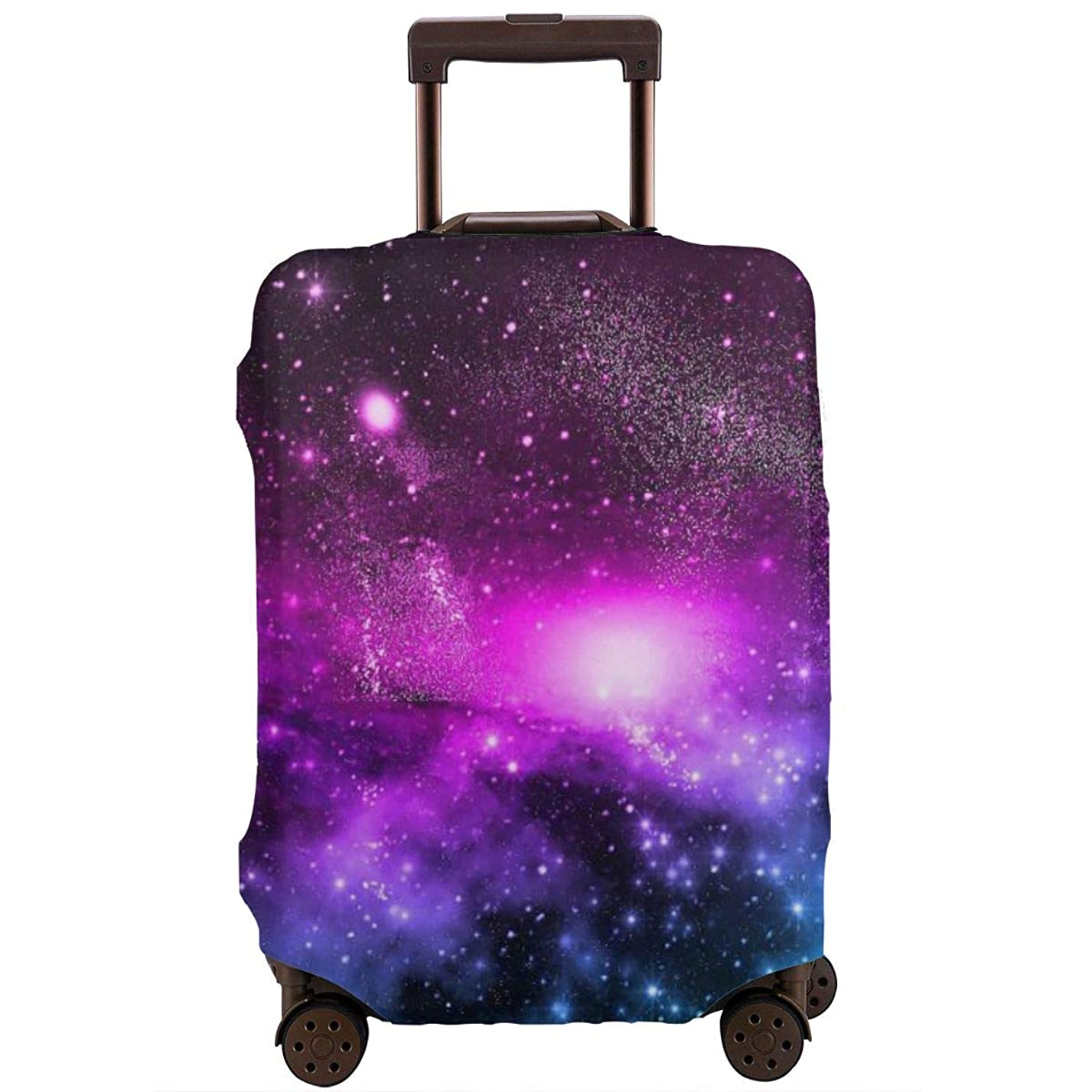 オーブンうぬぼれ追い付くスーツケースカバー キャリーカバー 銀河系宇宙 伸縮弾性素材 トラベルダストカバー スーツケース保護カバー ラゲッジカバー 通気性 傷防止 盗難 防塵カバー 欧米風 S/M/L/XLサイズ