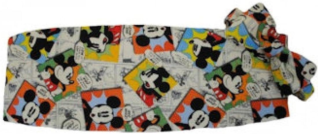 Mickey Mouse Comic Strip Tuxedos Cummerbund and Bow Tie