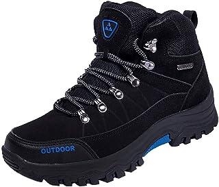 Botas de montaña Impermeables para Hombre,ZARLLE Zapatos Botas de Senderismo para Hombre Zapatos de Low Rise Trekking Ocio al Aire Libre y Deportes Zapatillas de Running