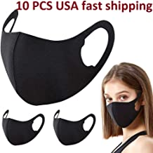 10PCS Unisex Washable Reusable – 3D Design_Mask Anti-Dust Mouth Anti Dust Mouth..