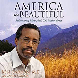 America the Beautiful audiobook cover art