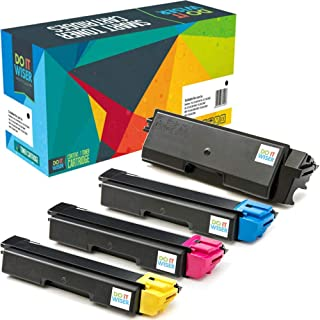 Do it Wiser Compatible Toner Cartridge Replacement for TK 592 TK-592 Kyocera FS-C5250DN M6526CDN FS-C2126MFP FS-C2026MFP FS-C2626MFP FS-C2526MFP M6026CIDN | 4-Pack