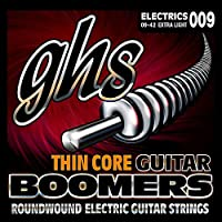 GHS TC-GBXL エレキギター弦 BOOMERS THIN CORE Extra Light(09-42)【国内正規品】