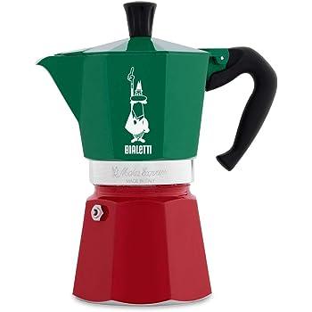 Bialetti Moka Express Tricolor Italia - 6 cups Multicolor