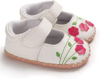 CENCIRILY Infant Baby Girls Mary Jane Lightweight Soft Sole No-Slip Crib Shoes Toddler Princess Shoes