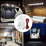AMBOTHER 30 LED Car Interior Lights Kit LED Project Lens Lighting Lamp Work Light for Truck Car Kit Vehicle, Motorhome… 10