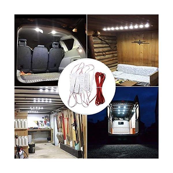 AMBOTHER 30 LED Car Interior Lights Kit LED Project Lens Lighting Lamp Work Light for Truck Car Kit Vehicle, Motorhome… 1