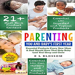 Parenting: You and Baby's First Year Products: Must-Have Products Every New Mom and Dad Should Have That Help Baby (and You) Sleep and Grow     Parenting: You And Baby, Book 1              Written by:                                                                                                                                 E. L. Blossom                               Narrated by:                                                                                                                                 Jacob P. Luckhart                      Length: 1 hr and 9 mins     Not rated yet     Overall 0.0