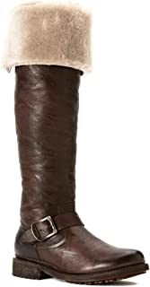 FRYE Women's Valerie Shearling Over-The-Knee Riding Boot