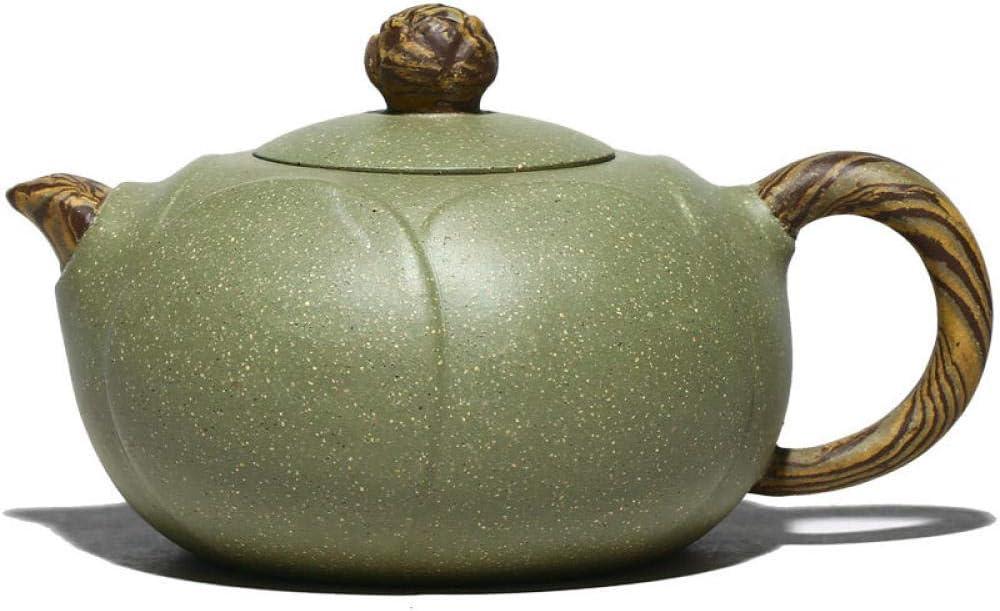 ZHSDTHJY Kongfu Teapotpurple Rapid rise Clay Teapot Handmade Cla Genuine Free Shipping Green Bean