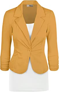 Womens Casual Work Office Blazer Jacket Made in USA
