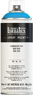 Liquitex, Fluorescent Blue 4450984 Professional Spray Paint 12-oz, 400ml Can