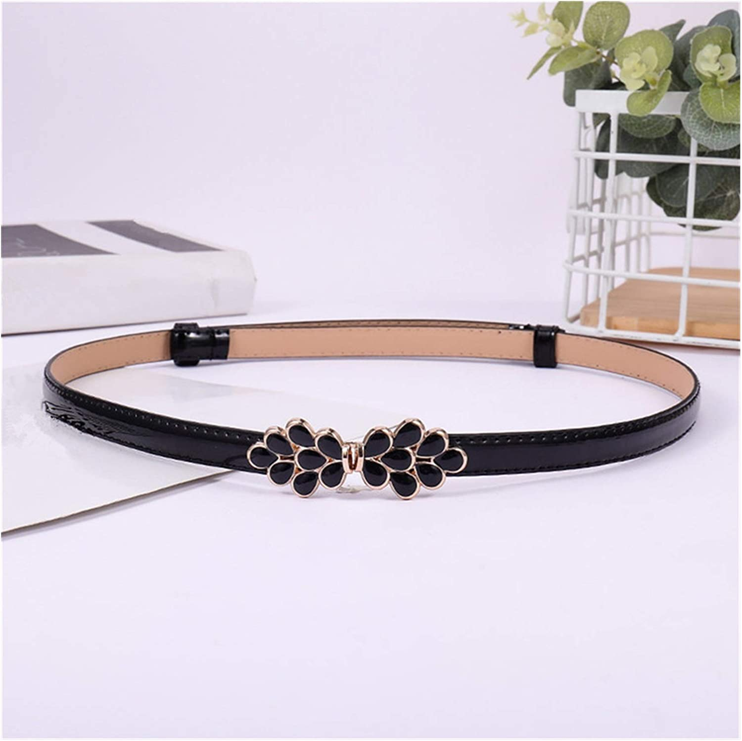 ZCPCS Summer Female Black Maple Leaves Ladies Popular overseas Buckle Thin Max 89% OFF on The