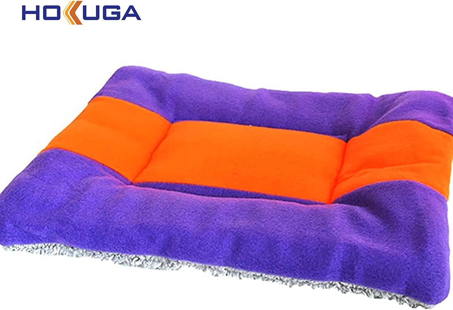 HOKUGA Pet Bed Mat Ultra Ultra Durable Pet Nest Dog Bed Cat Soft Fleece Mat Winter warning Kennel Bed Sofa for Small Puppy Medium Large Dogs