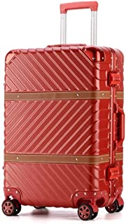 C-Xka High-Grade Luggage, Universal Wheel Password Suitcase, PC Aluminum Frame Trolley Case