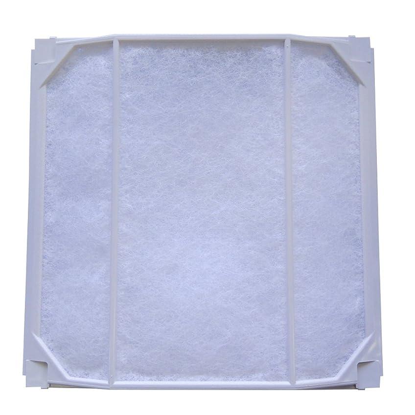 食品鉱夫残高ユニックス 樹脂製角型換気口 PCG(F)150シリーズ用 外気浄化フィルター PCG PCF150フィルタセット φ150 3枚入