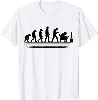 Gamer PC games gaming Konsolen zocken Evolution gamer T-Shirt
