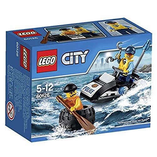 LEGO City Police Fuga con Gli Pneumatici, 60126