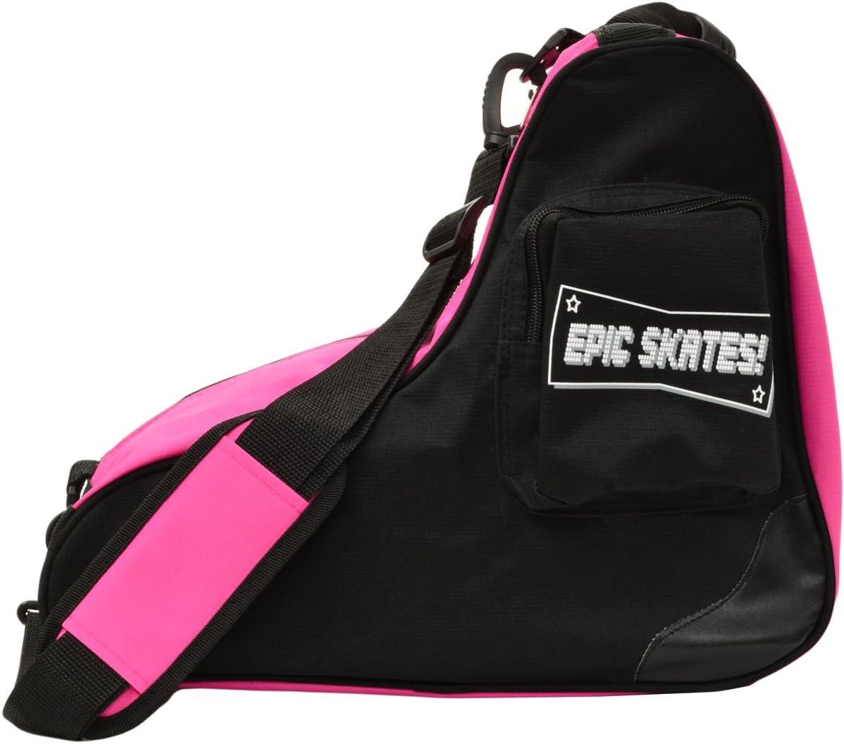 Epic Skates Premium Skate Bag, Black/Pink : Sports & Outdoors