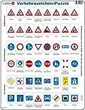 Larsen ob3–Puzzle de señales de tráfico, 48Piezas