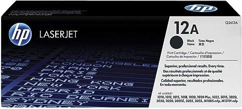 HP Q2612A 12A Cartucho de Tóner Original, 1 unidad, negro