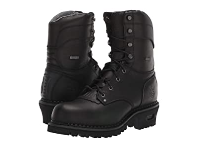 Georgia Boot AMP LT Logger Waterproof 9 Work Boot (Black) Men