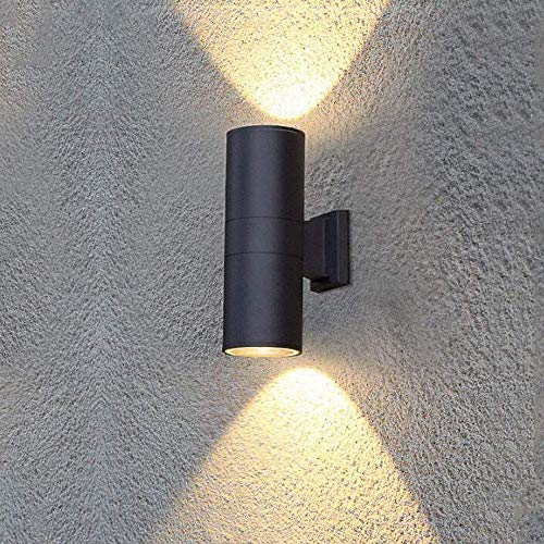Hedendaagse Buiten Wandlamp Up and Down Spotlight, Body In Aluminium waterdicht buiten wandlampen, for House Stairs Entree Woonkamer Balcony