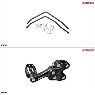 kimpex atv fender guards with foot pegs