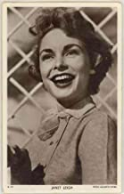 Sexy Young Actress Janet Leigh - Vintage Real Photo MGM Postcard #D129