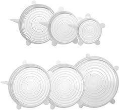 Funnyrunstore Coperchio di tenuta per cucina Coperchio di riscaldamento Copertura per presentatore di olio Tenuta fresca Conservazione Speciale per frigorifero Forno a microonde