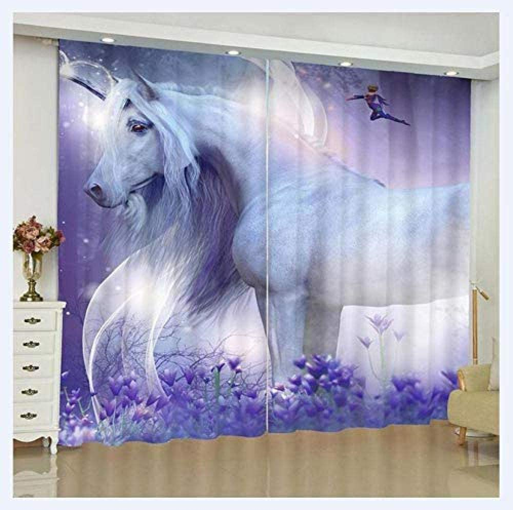 Blackout Window Curtainpanels Unicorn Dar Room Insulated 67% OFF of fixed price Thermal Reservation