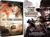 Lone Survivor True Story & We Were Soldiers Courage Movie Bundle Set