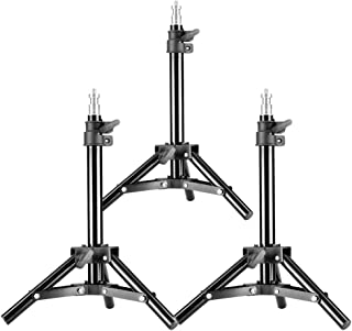 """Neewer - 90088369 ® Set of 3 Mini Aluminum Photography Light Stands with 32""""/80cm Max Height for Reflectors, Softboxes, Li..."""