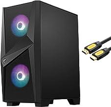 MSI Codex ZS Barebone ، AMD B550 Motherboard ، 550W 80 منبع تغذیه ، 4X 288 Pin DIMM DDR4 شکاف ، 2X M.2 PCIe شکاف ، 1x HDMI w/ Mytrix_HDMI کابل