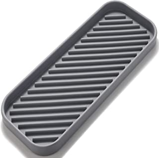 ERISED Sponge Holder for Kitchen Sink 9x3.5 Silicone Kitchen Sink Organizer for Sponge,Soap Dispenser,Kitchen Towel Scrubb...