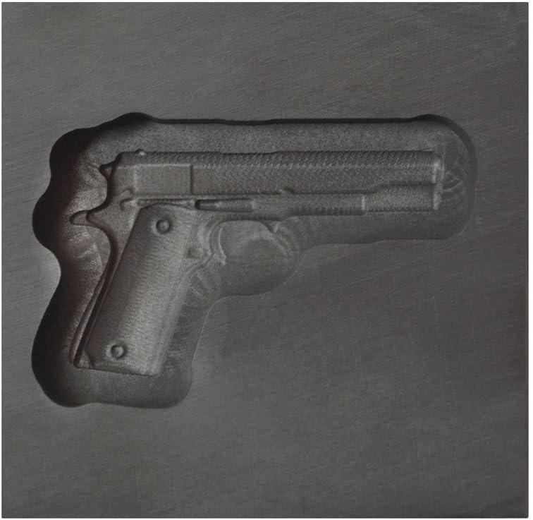 Small famous - Gun 3D Graphite Ingot Metal for Inexpensive Go Mold Casting Precious