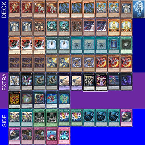 YUGIOH Tournament Ready Chaos Dragon Deck with Complete Extra & Side Deck and exclusive Phantasm Gaming Token