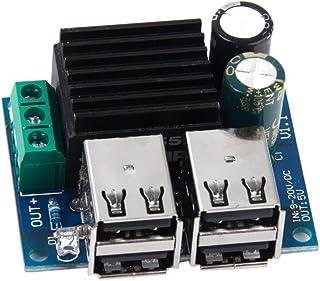 WINOMO DC-DC strömmodul med 4 USB-portar 9 V 12 V 18 V 20 V till 5 V