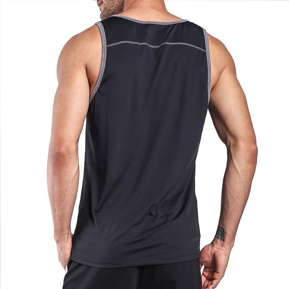 Ogeenier Hombre Deporte Camiseta sin Mangas de Secado R/ápido para Running Fitness Ejercicio