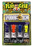 2CHILL Fake Play Money Cashier Drawer Set for Kids Educational Toy Set Cash Register Learn with Realistic Dollars | Item #3123-1