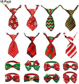 dog christmas bow